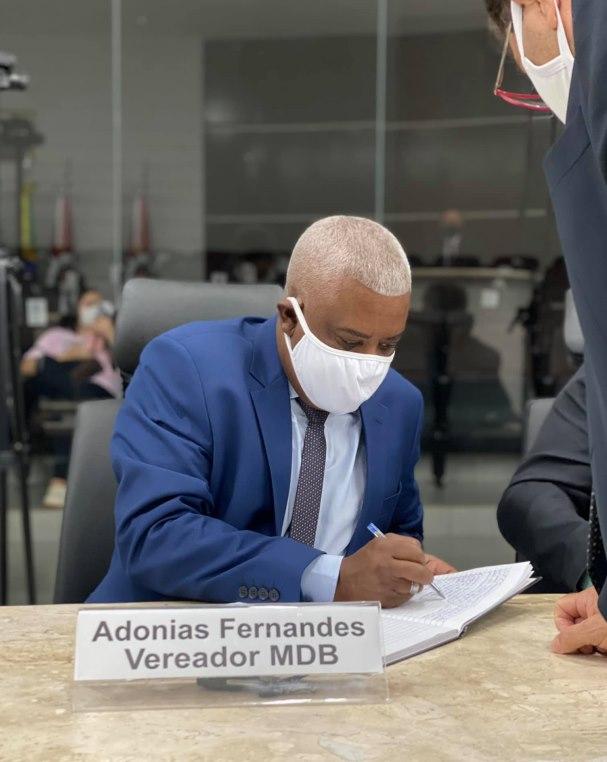 Imagem: ADONIAS FERNANDES Câmara define membros das Comissões e Adonias fica à frente de Finanças e Orçamento