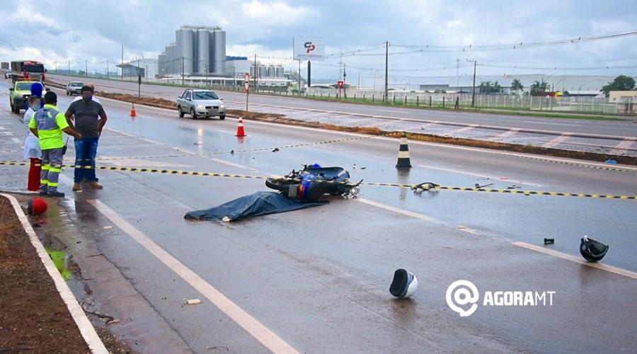 Imagem: Acidente deixa vitima fatal na Br 163 em Rondonopolis Em 2020, 331 motoristas deixaram local do acidente sem prestar socorro