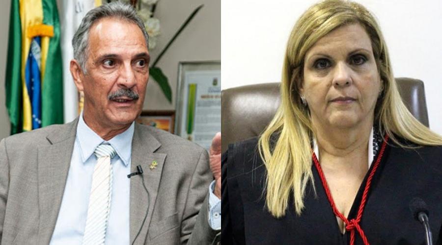 Imagem: Carlos Alberto e NIlza Carlos Alberto e Nilza Maria chefiarão TRE; Presidência ainda será definida