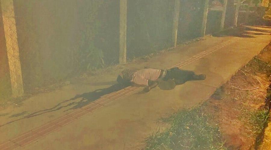 Imagem: Homem assassinado no Jardim Itamaraty Homem é assassinado no bairro Jardim Itamaraty