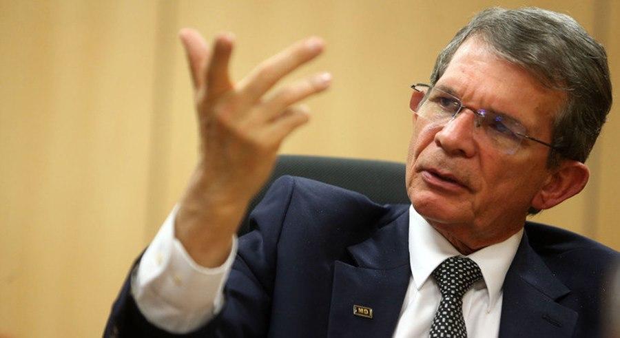 Imagem: O General Joaquim Silva e Luna ja foi diretor geral da Itaipu Binacional Presidente Jair Bolsonaro anuncia troca do presidente da Petrobras