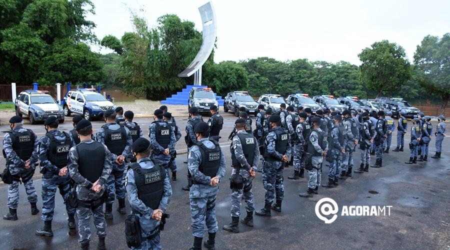 Imagem: Operacao Entrudo realizado pela Policia Militar PM lança operação com toque de recolher das 22h às 5h
