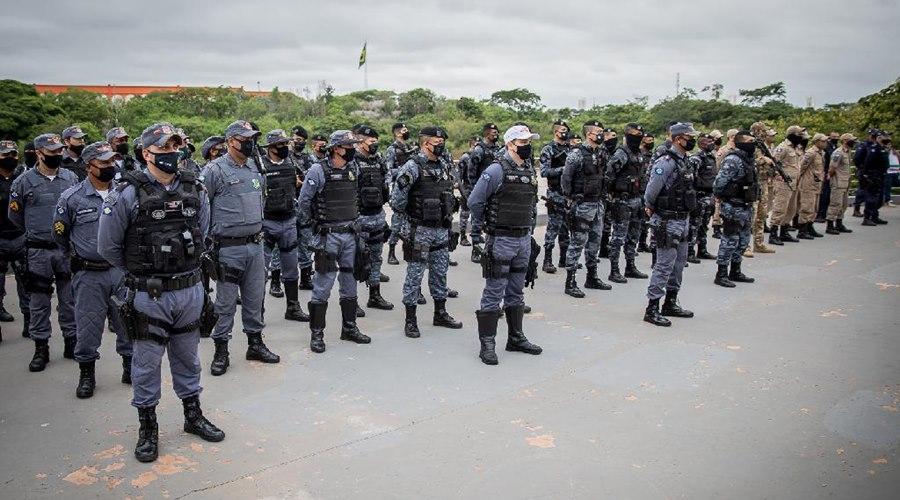 Imagem: Operacao PM em MT Operação integrada Ordem Pública cumpre 30 mandados de prisão em MT