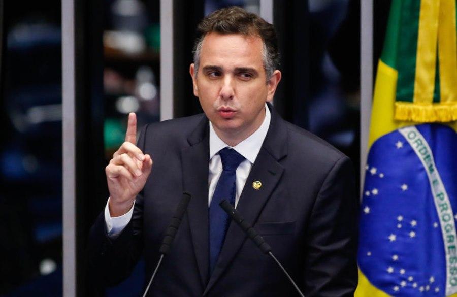 Imagem: Rodrigo Pacheco Rodrigo Pacheco é eleito presidente do Senado com 57 votos