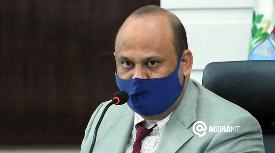 Imagem: Ronny Magnani vereador Nota é divulgada e presidente fala em sessão extraordinária