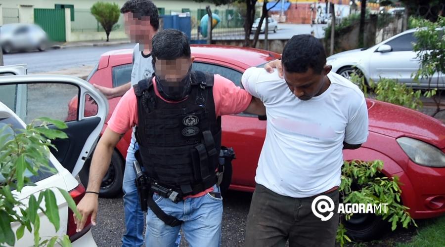 Imagem: Suspeito de ter matado jovem e preso pela Policia Civil de Roo Acusado de matar mulher a pauladas diz que foi ao local para um programa