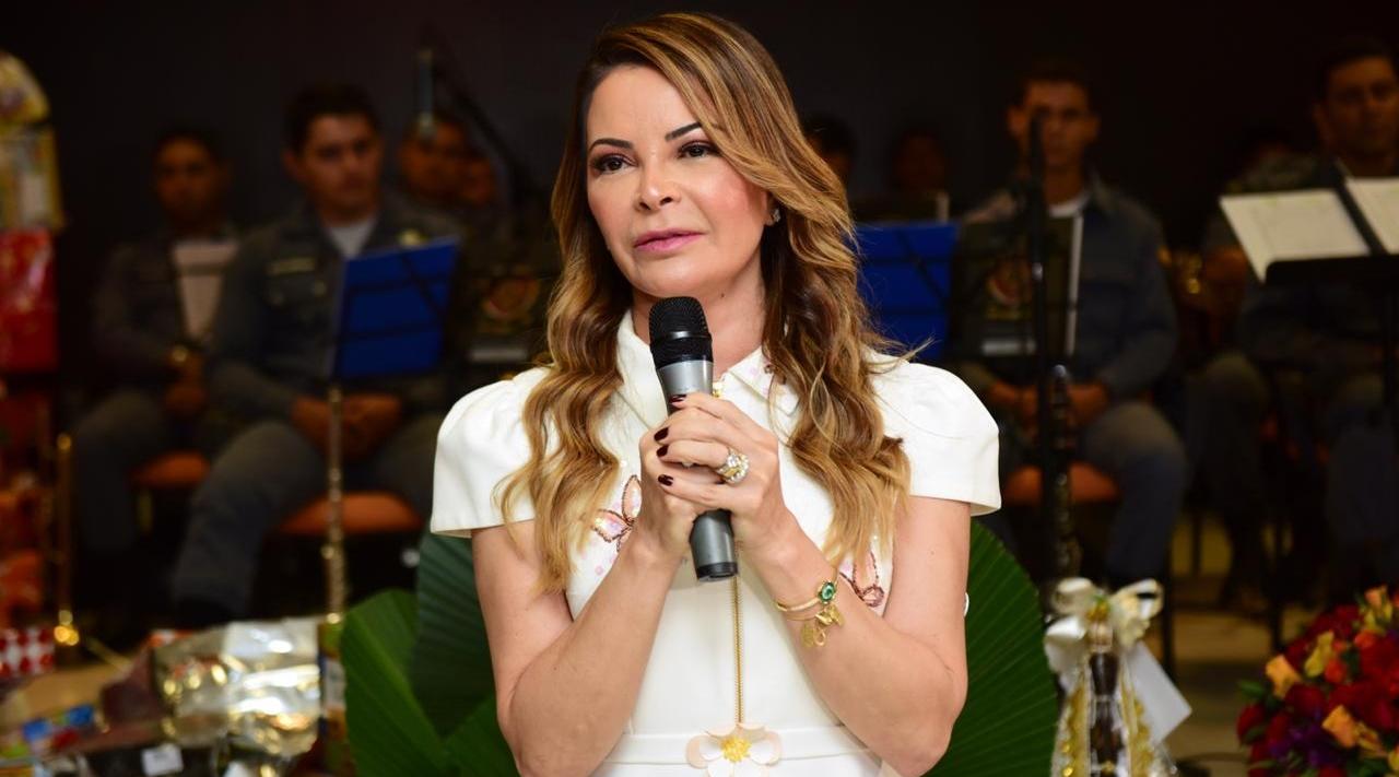 Imagem: Virginia Mendes Primeira-dama cita melhora e diz que deve deixar hospital nesta semana