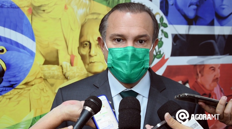 Imagem: Wellington senador por MT Pantanal, berço da vida