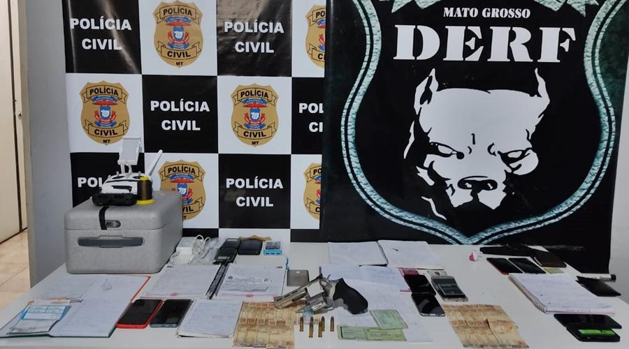 Imagem: WhatsApp Image 2021 02 25 at 07.51.45 DERF desarticula organização criminosa em Rondonópolis