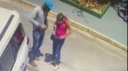 Imagem: assalto Goiabeiras Câmeras flagram bandido roubando carro em área nobre da Capital
