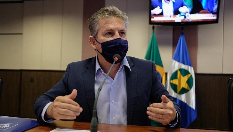 """Imagem: governador mauro mendes Mendes cita implicância e diz que competição virou """"grande vilã"""""""
