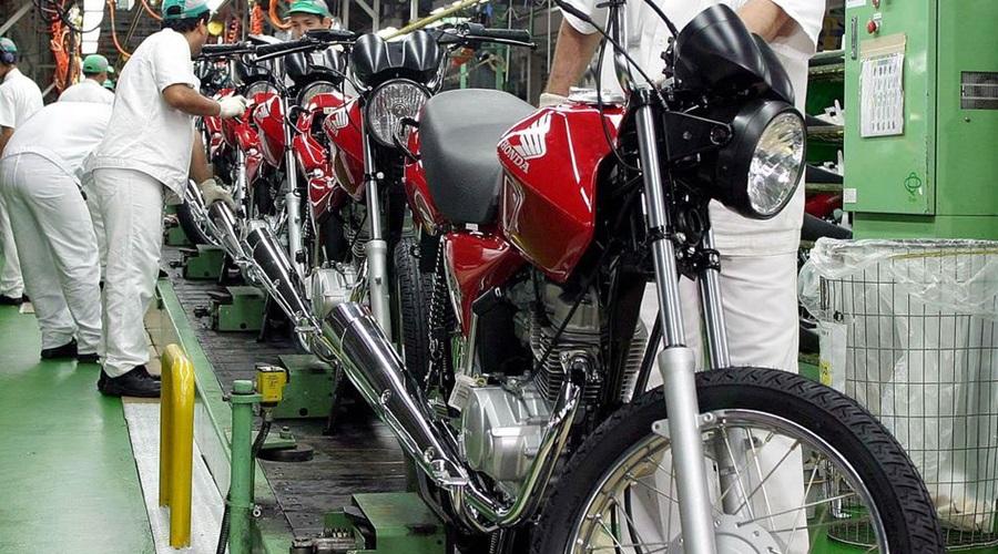 Imagem: motos Consumo de bens industriais subiu 3,6% em dezembro