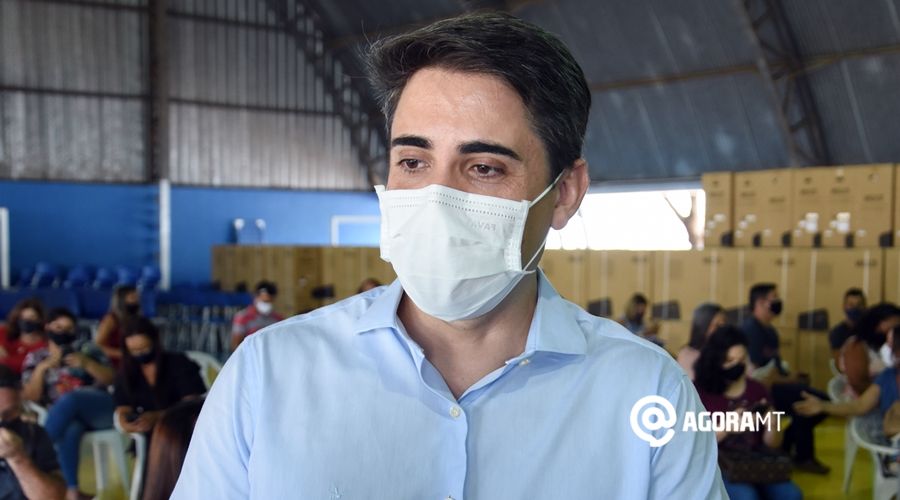 Imagem: Alan Porto secretario estadual de Educacao Secretário estima 2 meses para vacinar profissionais da Educação