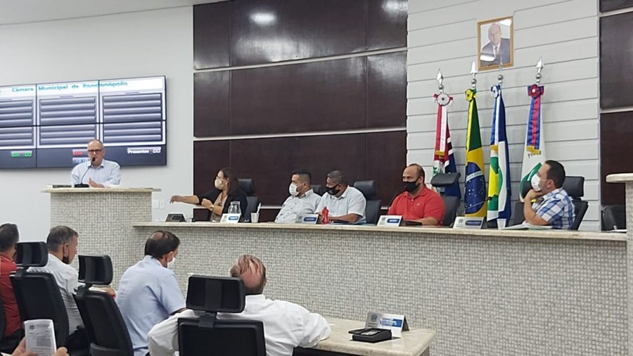 Imagem: Camara dos vereadores Câmara de Vereadores de Rondonópolis é a primeira do estado a aprovar compra de Vacinas através de consórcio