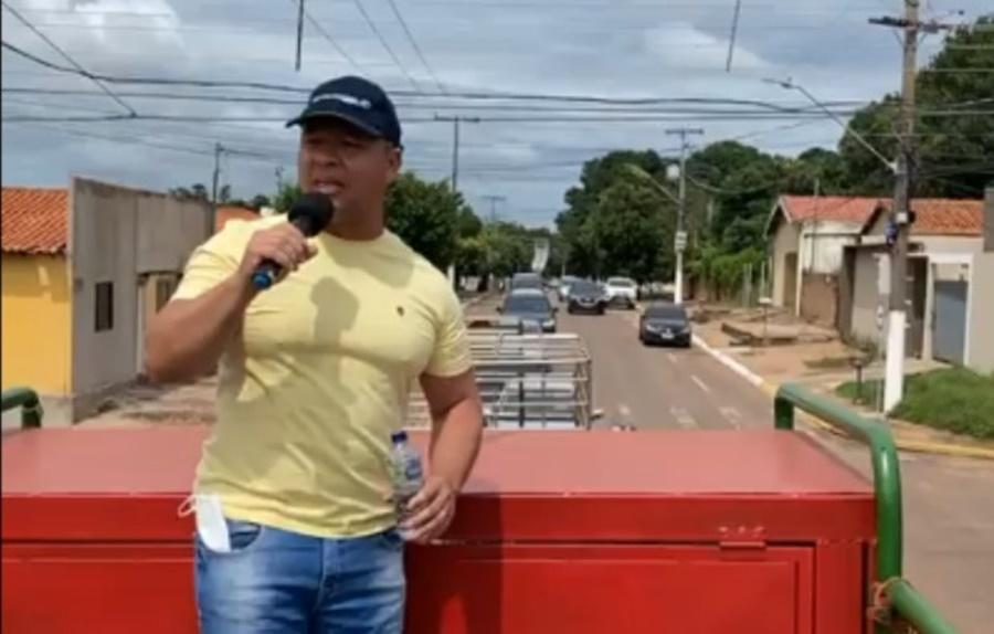 Imagem: Claudio Ferreira Apoiadores de Bolsonaro realizam manifestos em Rondonópolis