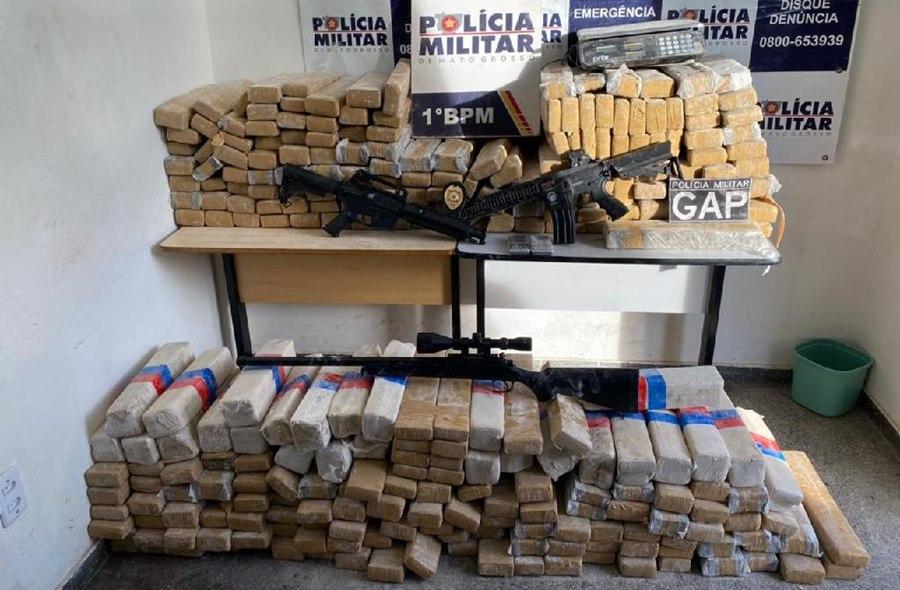 Imagem: Drogas apreendidas Polícia Militar apreende mais de 1 tonelada de droga em menos de uma semana