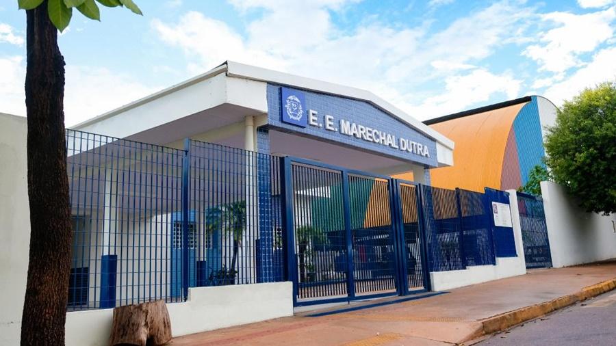 Imagem: EE Marechal Dutra Escola Marechal Dutra é transformada em unidade modelo