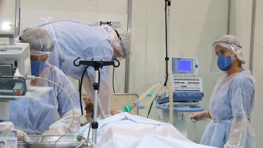 Imagem: HOSPITAL LEITOS UTI COVID CORONAVIRUS FOTO DIVULGACAO AGENCIA BRASIL Em 24 horas, MT tem 43 mortes e mais de 1,2 mil casos de Covid
