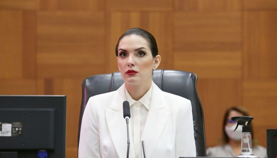 "Imagem: Janaina Riva Janaina vê ""momento ruim"" para Estado comprar jato de US$ 1,5 mi"