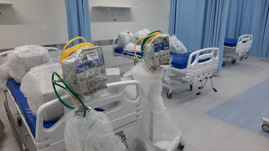 Imagem: LEITO DE UTI Novos 10 leitos de UTI são instalados em Rondonópolis
