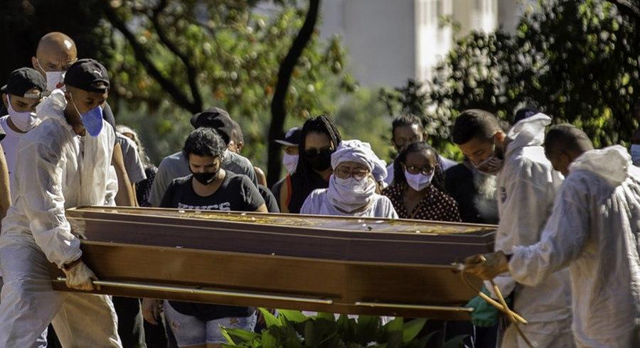Imagem: Mortes por Covid 1 Mato Grosso passa marca de 11 mil mortos por Covid-19