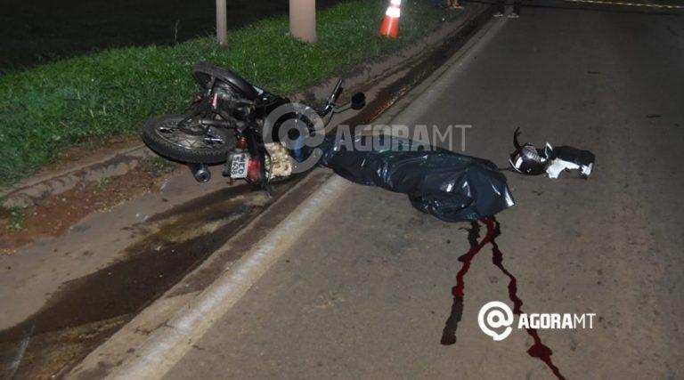 Imagem: Motociclista morreu na hora 1 Motociclista faz manobra arriscada e morre com a cabeça esmagada