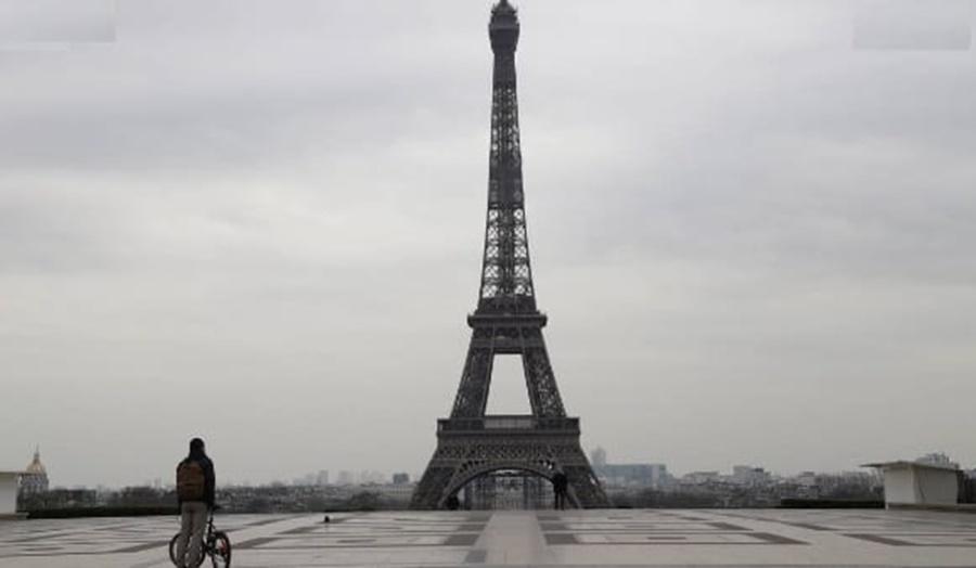 Imagem: Quarentena em Paris Paris terá nova quarentena de pelo menos um mês