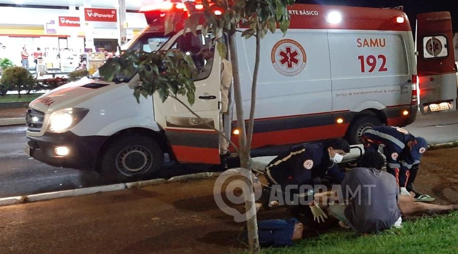 Imagem: WhatsApp Image 2021 03 14 at 20.51.47 1 Mulher tem crise de convulsão após ser arrastada na rua e receber socos do companheiro