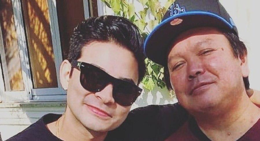 Imagem: Yudi e o pai Pai do apresentador Yudi morre vítima da covid-19