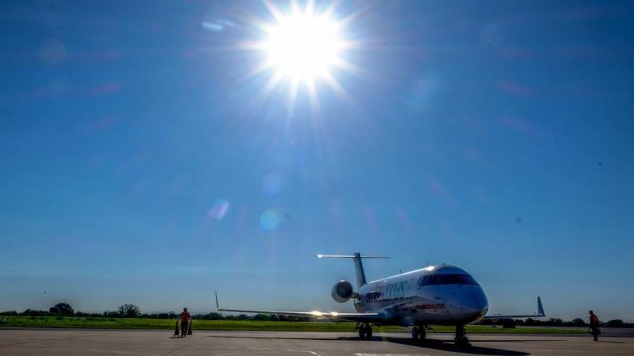 Imagem: aeroporto aviao tga tangara foto Secom MT Aeroporto de Tangará da Serra recebe investimento de R$ 10 milhões