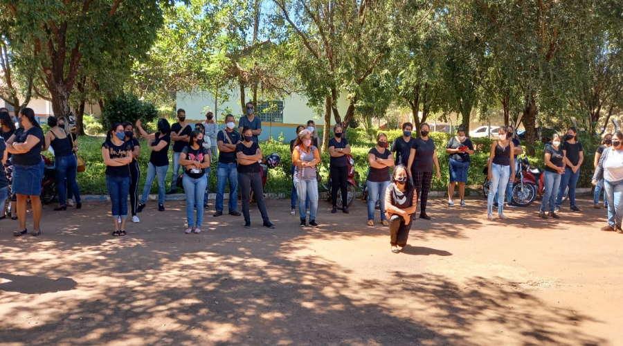 Imagem: agentesendemia 1 Agentes de endemia param atividades para cobrar elevação de piso