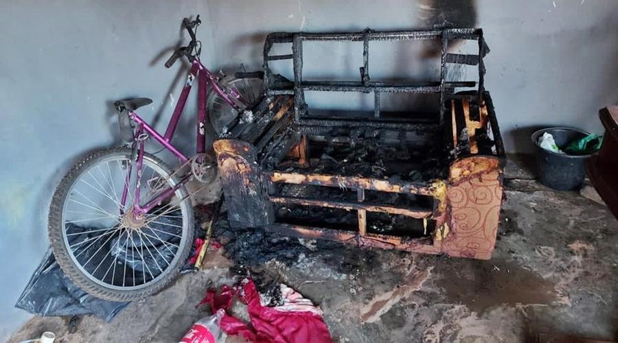 Imagem: c979e29f 136b 4b2b a2d7 d202a951641e Casal é detido e confessa ter ateado fogo em casa de idoso