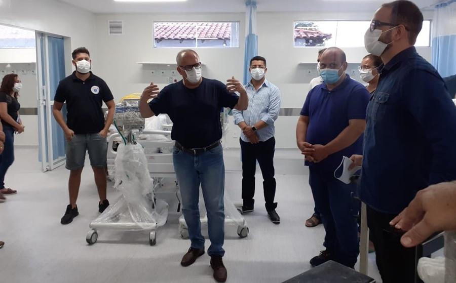 Imagem: leitos de UTI Novos 10 leitos de UTI são instalados em Rondonópolis