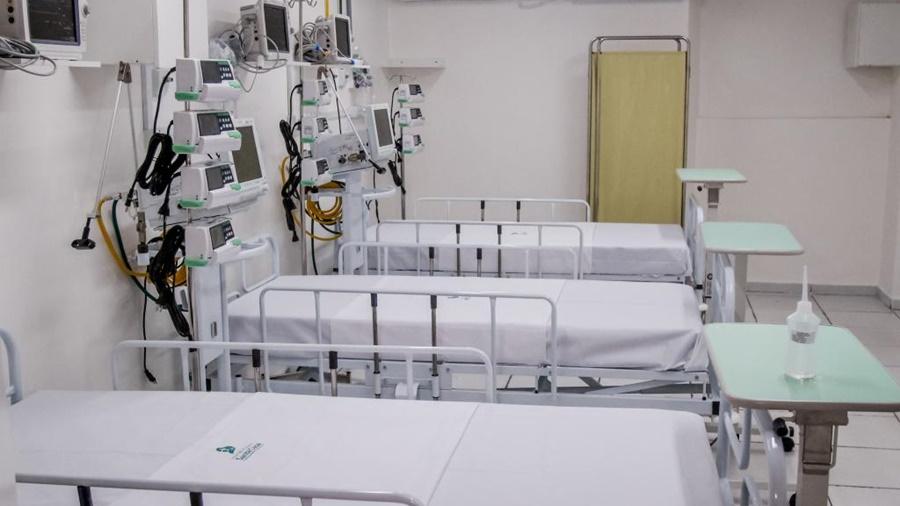 Imagem: leitos uti covid corona hospital Rondonópolis vai suspender 'Lei Seca', mas manterá restrições de decreto estadual