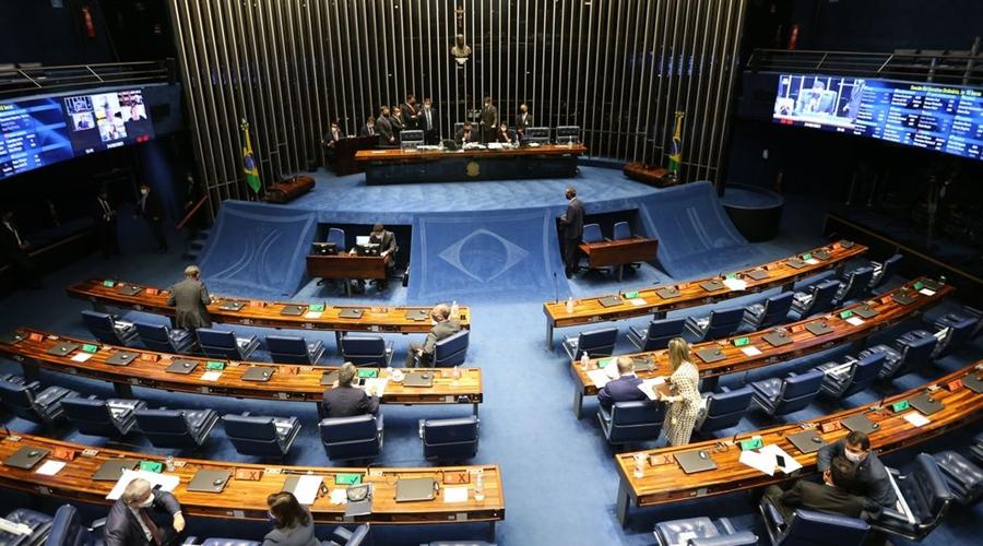 Imagem: plenario do senado federal sessao deliberativa ordinaria semipresencial fcpzzb abr 240220211041 Entenda as mudanças da PEC Emergencial