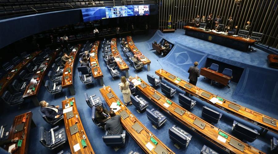 Imagem: plenario do senado federal sessao deliberativa ordinaria semipresencial fcpzzb abr 240220211043 Recursos para saúde e proibição de aumento de remédios estão na pauta