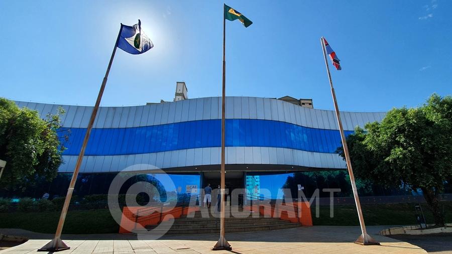 Imagem: prefeitura rondonopolis fachada Foto Vandreia de Paula Prefeitura de Rondonópolis publica decreto com restrições; veja o que mudou