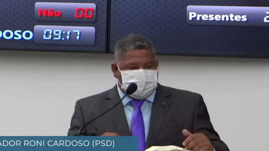 Imagem: ronicardoso psd Câmara aprova projeto que proíbe corte de água em Rondonópolis