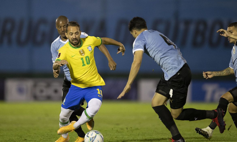 Imagem: uruguai e brasil eliminatorias copa do catar Conmebol suspende eliminatória sul-americana que seria no fim de março