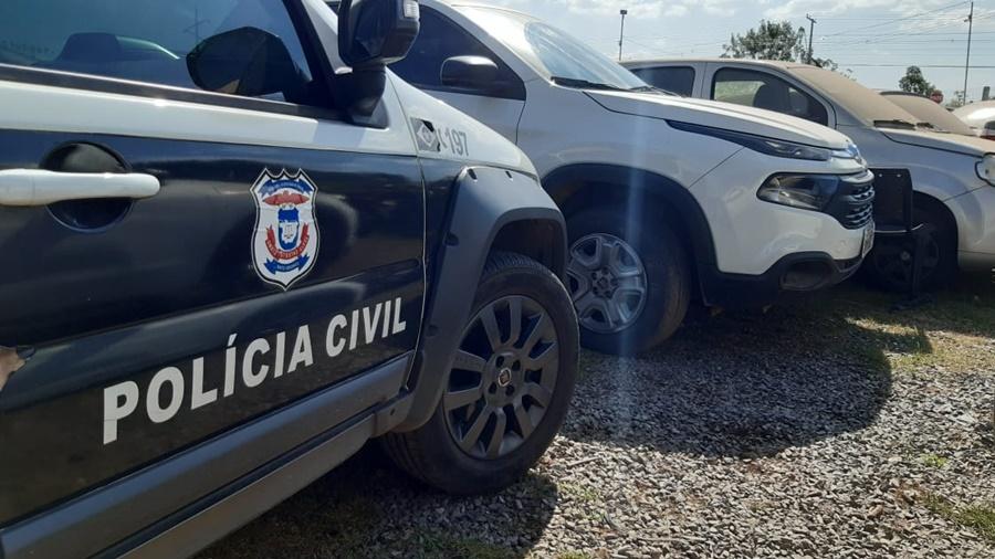 Imagem: viatura policia civil Deccor apura suposto sobrepreço em compras de medicamentos