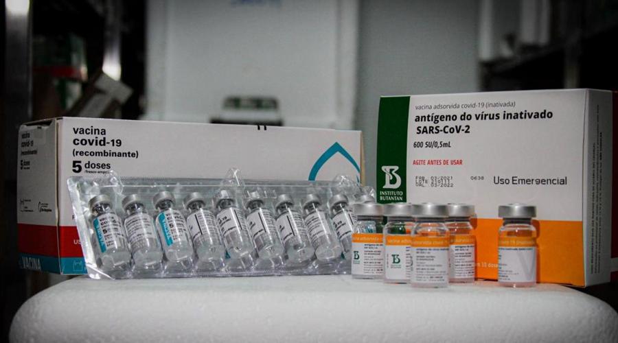 Imagem: 01 04 2021 Chegada de Vacinas 58 MT consegue aprovação para aumentar percentual de vacinas às Forças de Segurança