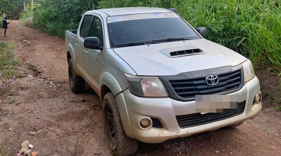 Imagem: 4a82b88d 6eee 4ab0 8faf 197c9de4de21 Polícia Militar recupera caminhonete roubada