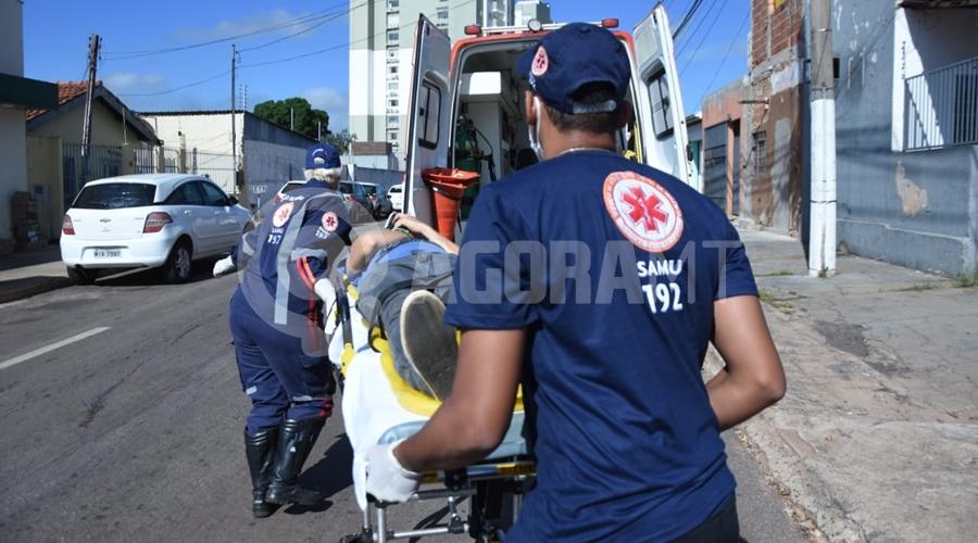 Imagem: 74d2c74c 3b18 4edd bcf6 553346a7491a Jovem fica ferido ao cair de telhado na Vila Marinópolis