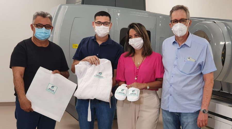 Imagem: Arg Viniciu stacasa Lideranças políticas retomam aproximação com a Santa Casa Rondonópolis