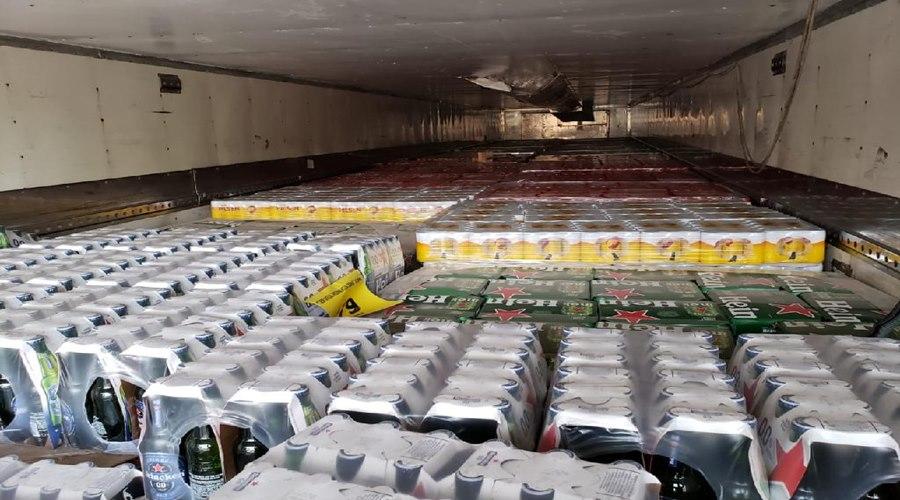 Imagem: Bebida apreendida Sefaz apreende carga de bebidas alcoólicas sem nota fiscal