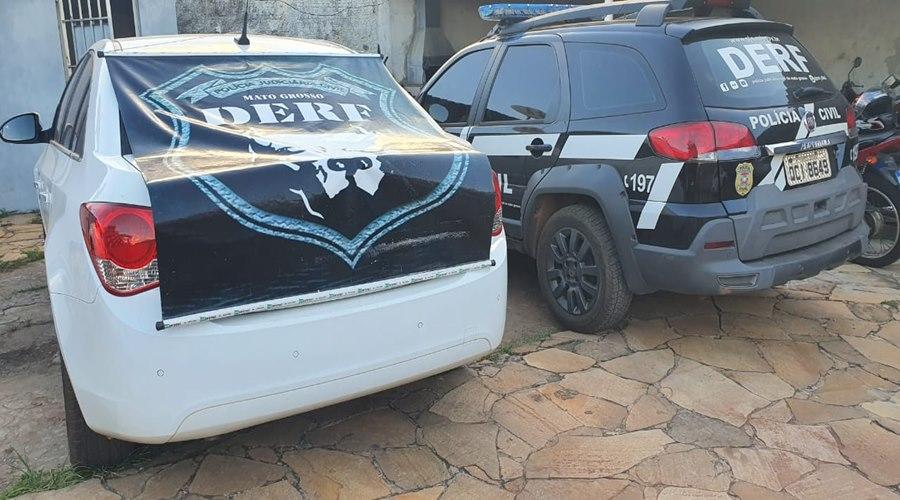 Imagem: Carro roubado Esposa e presidiário é presa por receptação de carro roubado