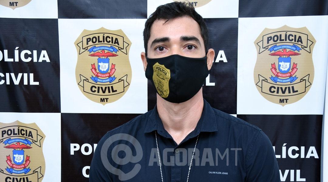 Imagem: Delegado Dr Fernando Fleury 2° suspeito de estuprar, torturar e manter jovem em cárcere privado é preso