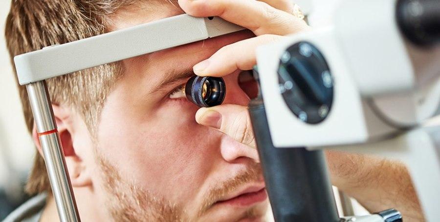 Imagem: Exame oftalmologista Como a Hipertensão Arterial pode afetar os nossos olhos