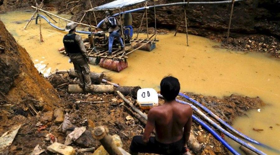 Imagem: Garimpo ilegal MP requer embargo e suspensão de atividades de garimpo ilegal