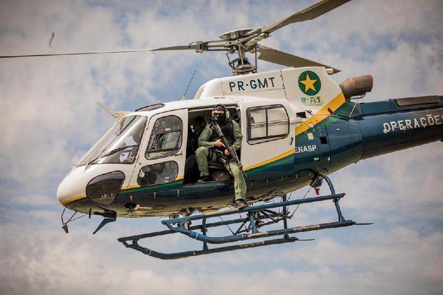 Imagem: Helicoptero Governo de MT compra helicóptero para reforçar combate aos crimes ambientais